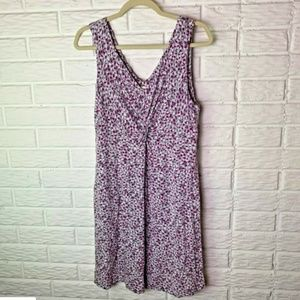 😊 Soma Nightgown Size Large Gray Purple White